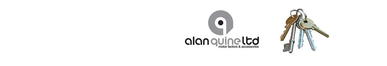 Alan Quines Key logo banner