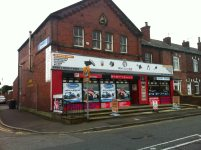 Alan Quine Shop fron from the road