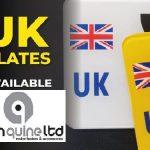 New UK Plates In Stock